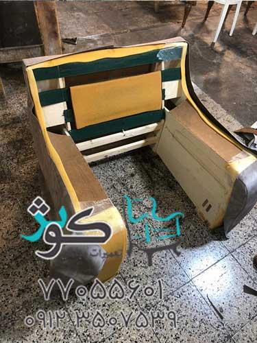 بهترین کارگاه تعمیر مبلمان در تهران